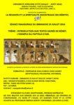 UNIVERSITÉ AFRICAINE D'ÉTÉ : LA RELIGION ET LA SPIRITUALITÉ ANCESTRALES DES KÉMITES
