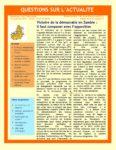 Victoire de la démocratie en Zambie : il faut composer avec l'opposition