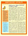 Afrique de 2012 : Réussir le partenariat stratégique ou stagner